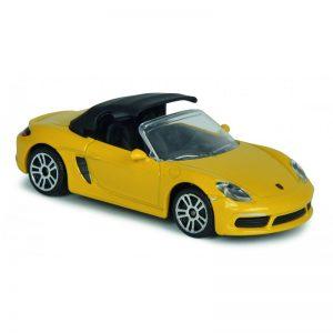 Porsche 718 Boxster Yellow