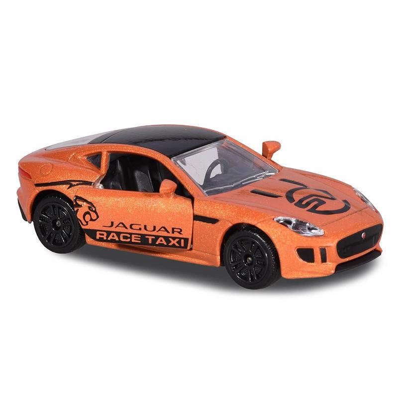 MAJORETTE 212084009 JAGUAR F-Type Coupé R 5.0 v8 Race Taxi arance MARRONE METALLIZZATO